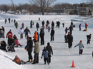 Patinoire du Canal de Chambly