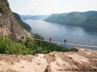 Via Ferrata - Parc national du Fjord-du-Saguenay