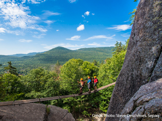 Via Ferrata - Parc national du Mont-Tremblant