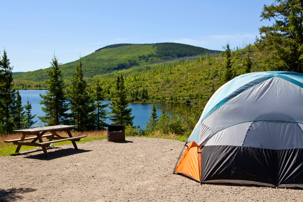 Camping du parc national des Grands-Jardins