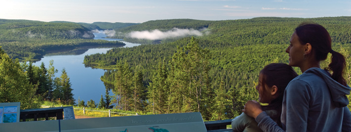 Parc national de la Mauricie, crédit photo Michel Julien