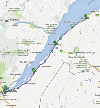 Les Tresors De L Est Du Quebec