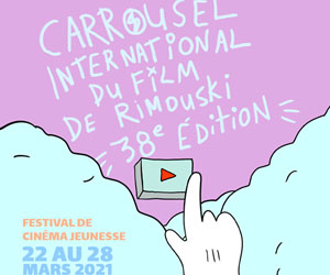 Affiche de la 38e édition du Carrousel international du film de Rimouski