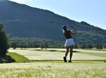 Parcours de golf chez Owl's Head