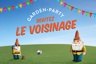 Invitez le voisinage au <em>Garden-party</em> des casinos du Québec