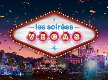 Les soirées Vegas, comme si vous y étiez, aux Casinos du Québec