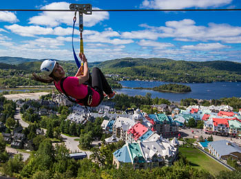 Crédit photo: Ziptrek Ecotours Tremblant