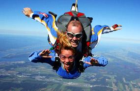 parachutisme quebec