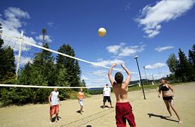 Volleyball au qu bec for Activite interieur a quebec